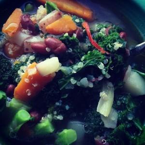 *Veg Quinoa Soup
