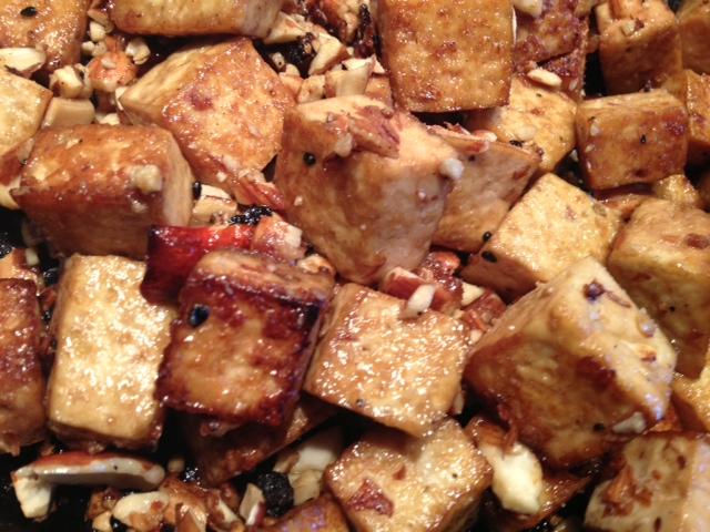 *almond Tofu