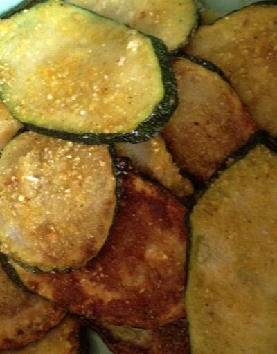 *corn crusted zucchini