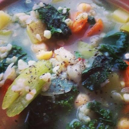 *early fall veg soup