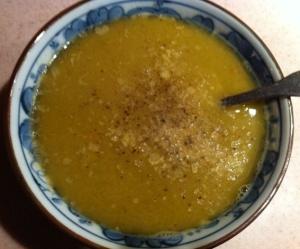 *split pea soup