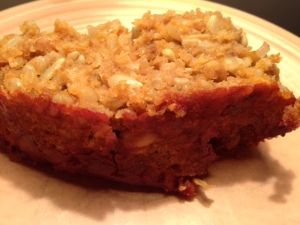 *White Bean Sunflower & Pumpkin Seed Veggie Loaf