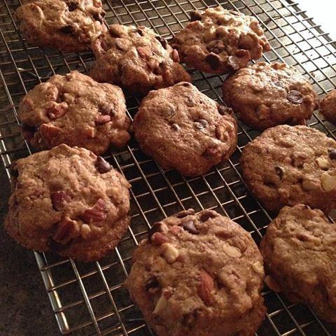 *GF chocolate chip almond crunch cookies