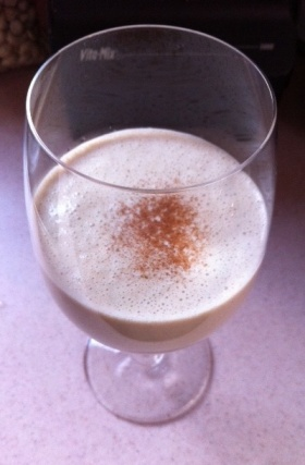 *RAW VEGAN EGG NOG
