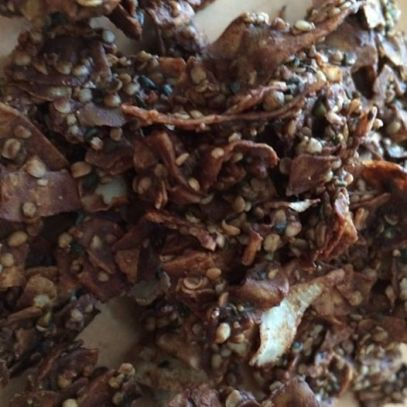 *Coconut Chocolate Hemp Chips