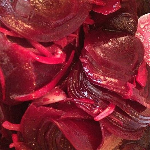 Pickled Beets with Onions | The Vegan Love Project