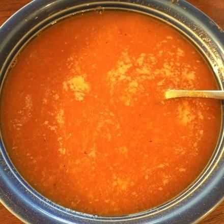 *tomatoredlentilsoup