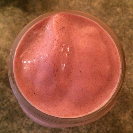 *strawberry Love smoothie
