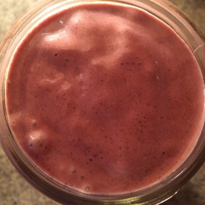 *raspberry power smoothie