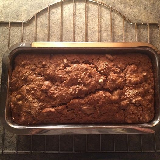 *banana walnut bread