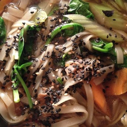 *asian noodle soup
