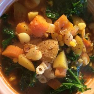 hearty fall veg soup