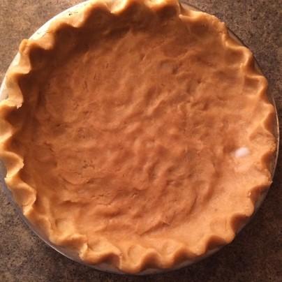 *gluten free pie crust