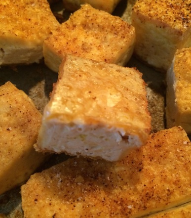 Simple Amazing Tofu Cubes