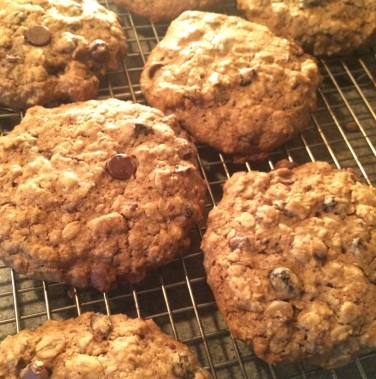 Gluten free cinnamon oatmeal raisin chocolate chip cookies 2015